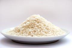 Placa do arroz Fotos de Stock Royalty Free