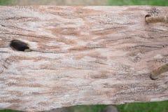 Placa do balanço com uma corda Fotos de Stock
