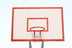 Placa do basquetebol Fotos de Stock Royalty Free
