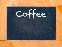 A placa do café Imagem de Stock Royalty Free