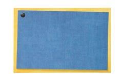 Placa do cartão ou do convite isolada no branco Imagem de Stock