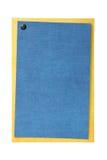 Placa do cartão ou do convite isolada no branco Foto de Stock Royalty Free