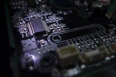 Placa do circuito integrado foto de stock royalty free
