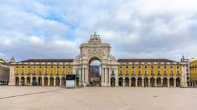 Placa do Comercio in Lisbon Royalty Free Stock Photos