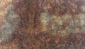 Placa do ferro Fundos da oxidação do metal Imagens de Stock