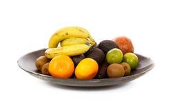 Placa do fruto Imagem de Stock