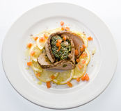 Placa do gourmet Fotos de Stock Royalty Free