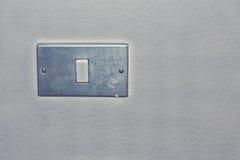 Placa do interruptor da luz imagens de stock royalty free