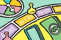 Placa do jogo Fotografia de Stock Royalty Free
