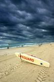 Placa do Lifeguard Imagem de Stock