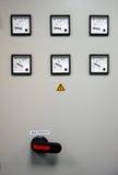 Placa do medidor elétrico Imagem de Stock Royalty Free
