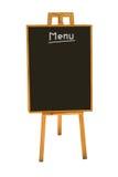 Placa do menu Imagens de Stock