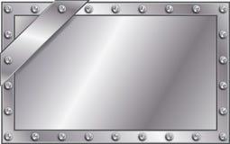Placa do metal Imagens de Stock Royalty Free