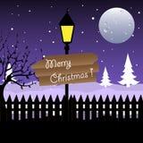 Placa do Natal Imagens de Stock