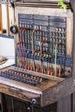 Placa do operador de telefone Fotografia de Stock Royalty Free