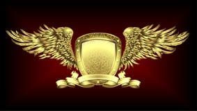 Placa do ouro Foto de Stock
