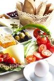 Placa do pequeno almoço fotografia de stock royalty free