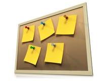 Placa do Pin Imagens de Stock