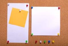 Placa do Pin Fotos de Stock