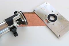 Placa do roteador para o woodworking Imagem de Stock