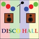 Placa do salão do disco Imagem de Stock