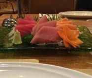 Placa do Sashimi Imagem de Stock Royalty Free