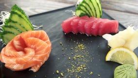 Placa do Sashimi na tabela filme