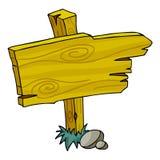 Placa do sinal ilustração stock