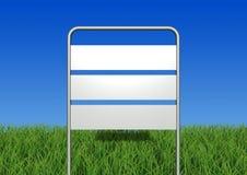 Placa do sinal Foto de Stock