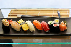 Placa do sushi Imagem de Stock