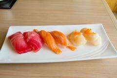 Placa do sushi Fotografia de Stock