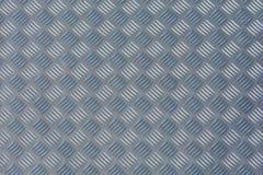 Placa do verificador como a textura do metal foto de stock