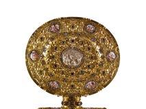 Placa dourada da residência em Munich Imagem de Stock Royalty Free