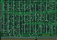 Placa electrónica ilustración del vector