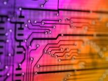 Placa eletrônica fotografia de stock