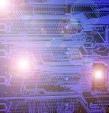 Placa eletrônica Foto de Stock