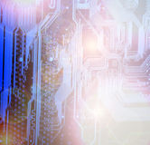 Placa eletrônica Imagem de Stock