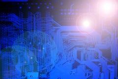 Placa eletrônica. imagem de stock royalty free