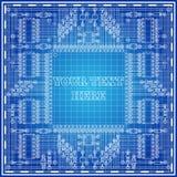 placa eletrônica Foto de Stock Royalty Free