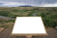 Placa en la Escritura-En-Piedra Fotografía de archivo