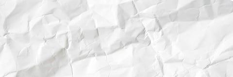 A placa enrugou o Livro Branco Conceito para o projeto do papel de parede da página de bandeira, fundo cinzento da textura foto de stock royalty free