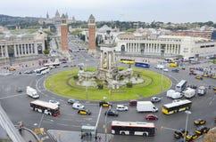 Placa Espanya Βαρκελώνη, Καταλωνία, Ισπανία Στοκ Εικόνες