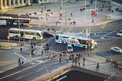 Placa Espanya, Βαρκελώνη Στοκ φωτογραφίες με δικαίωμα ελεύθερης χρήσης