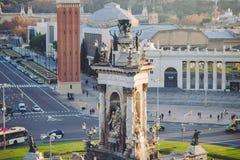 Placa Espanya, Βαρκελώνη Στοκ φωτογραφία με δικαίωμα ελεύθερης χρήσης