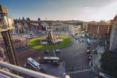 Placa Espanya, Βαρκελώνη Στοκ εικόνα με δικαίωμα ελεύθερης χρήσης