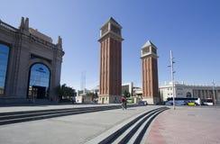 Placa Espanya στη Βαρκελώνη, Ισπανία Στοκ Εικόνες