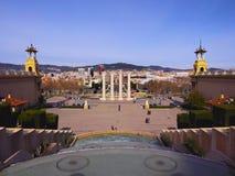 Placa Espanya στη Βαρκελώνη Στοκ Φωτογραφία