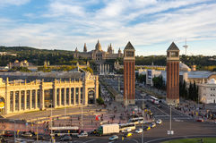 Placa δ ` Espanya στη Βαρκελώνη Στοκ εικόνες με δικαίωμα ελεύθερης χρήσης
