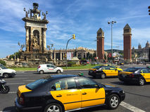 Placa Espanya Barcelona Royalty Free Stock Photo