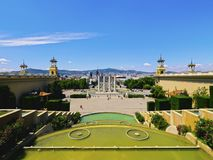 Placa Espanya in Barcelona Stock Images